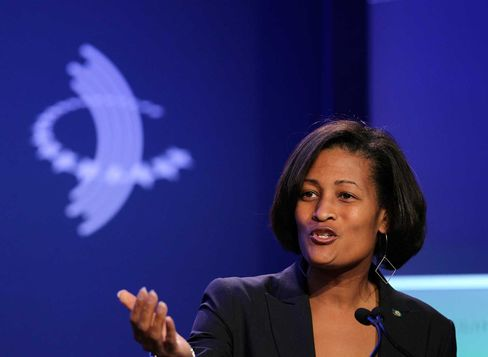 Cheryl Mills served as counselor and chief of staff for U.S. Secretary of State Hillary Clinton.