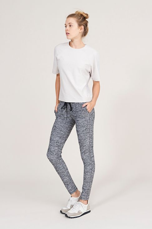 An activewear look from fitness apparel label Outdoor Voices.
