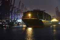 Container Shipping At Germany's Biggest Port Ahead of GDP