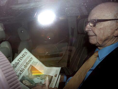 News Corp. Chief Executive Officer Rupert Murdoch