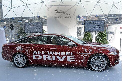 Jaguar Turns to Playboy, New York Ice Rink for U.S. Rebound