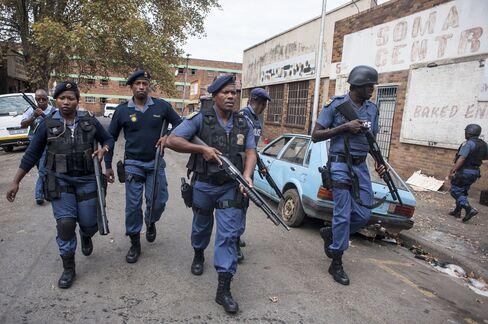 Police In Jeppestown