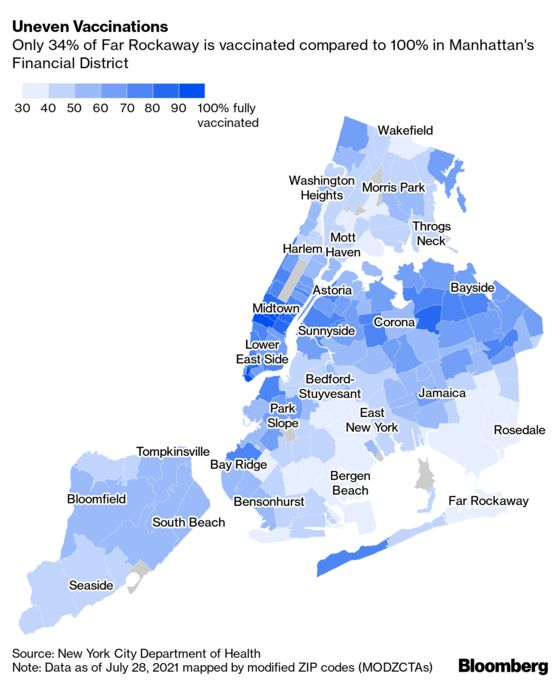 When Money Can't Buy Shots: New York City's Vaccine Holdouts