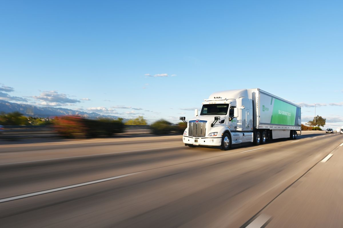 Self-Driving Trucks Will Carry Mail in U.S. for the First Time