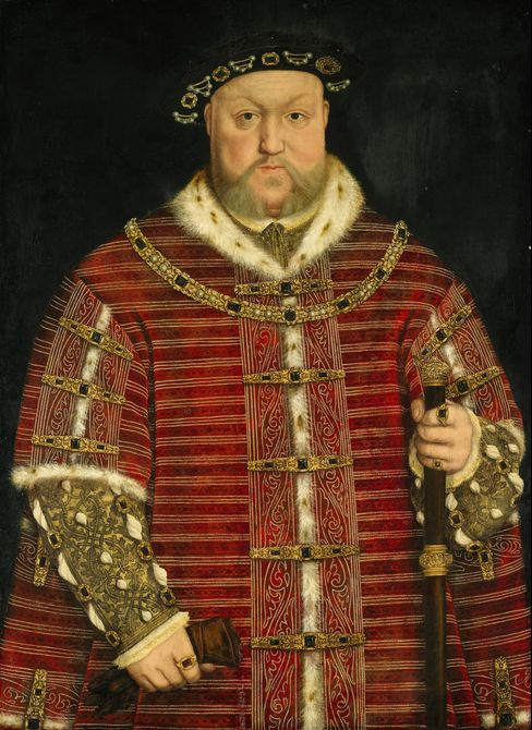 King Henry VIII Portrait by Hans Holbein