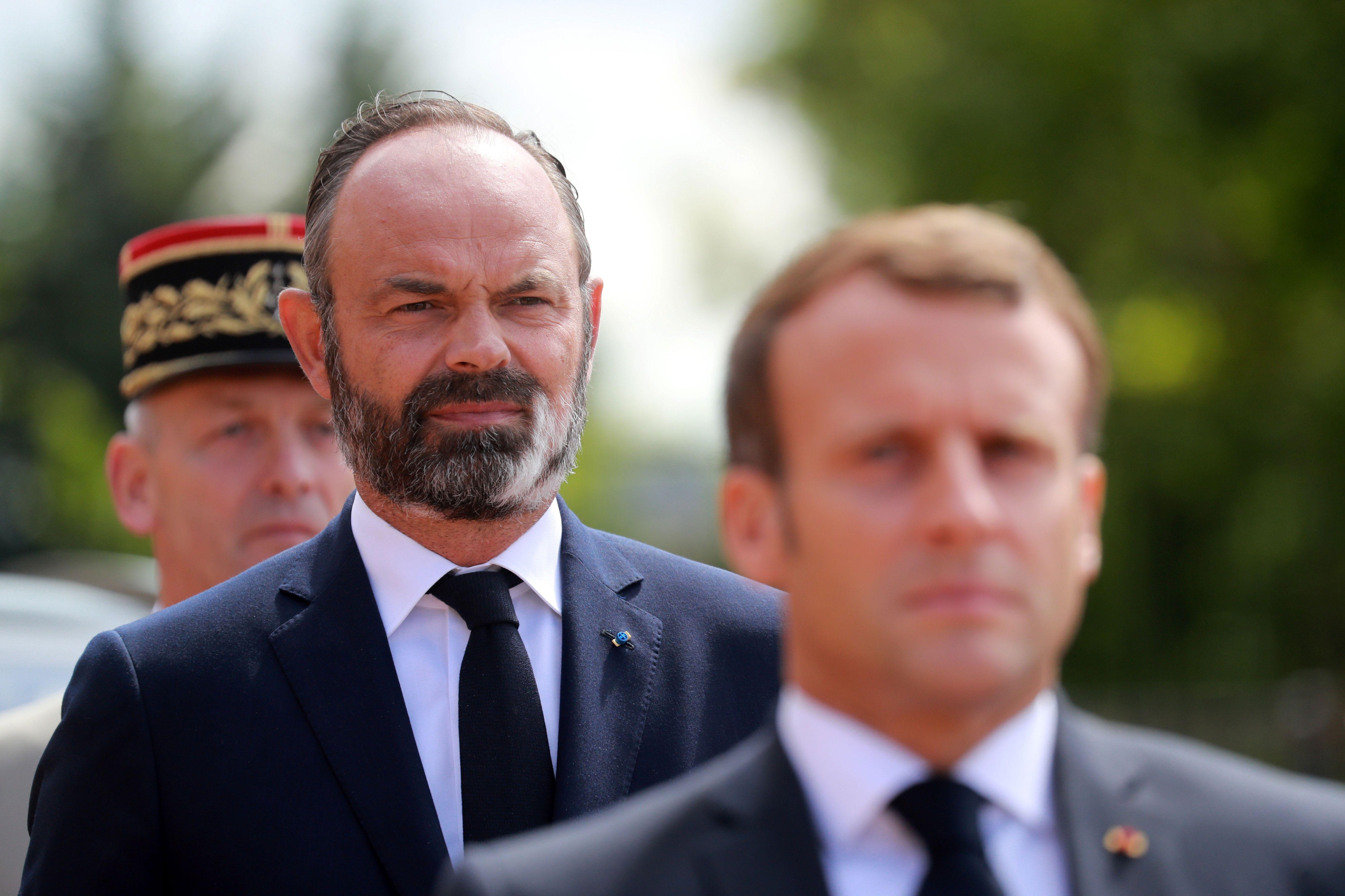Emmanuel Macron Popularity Poll Lags Pm Edouard Philippe Bloomberg