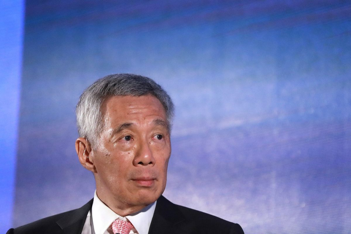 Singapore Says Asia's at 'Turning Point' as U.S., China Face Off