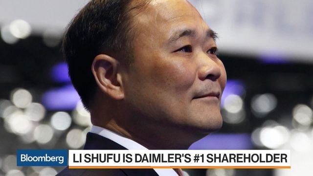 Daimler's Chinese billionaire investor wants its electric car technology