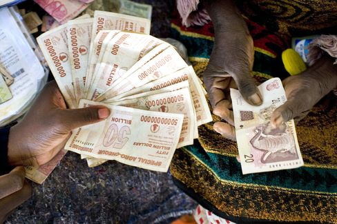 Juggling Five Currencies in Harare Earns Street Traders Mercedes