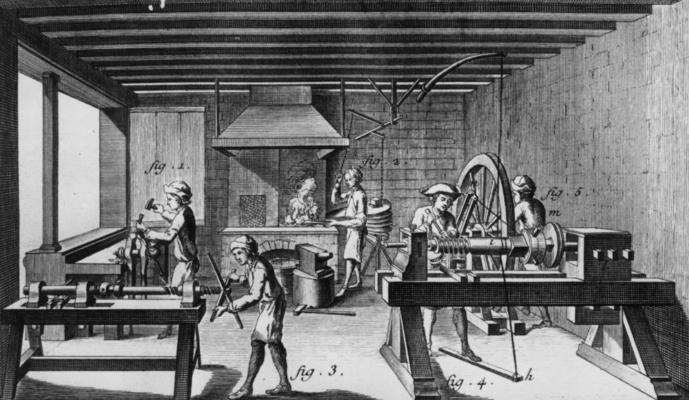 what happened in the industrial revolution