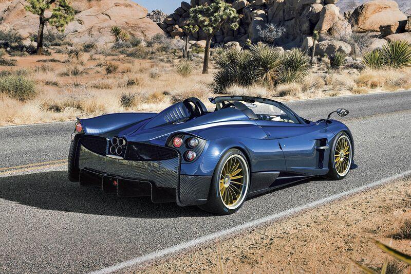 New Pagani Huayra Roadster Convertible Price Specs Photos
