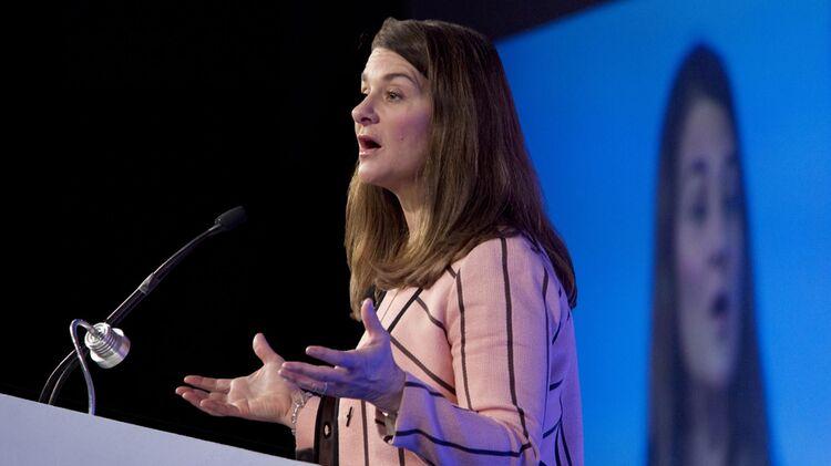 relates to Melinda Gates on 'Bloomberg Studio 1.0'