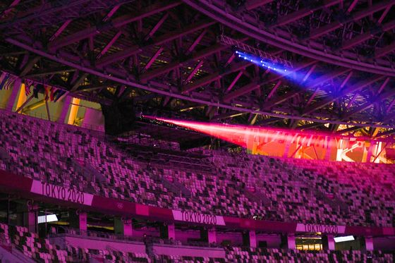 Fan-Free Olympics Showcase Socially Distant Tech