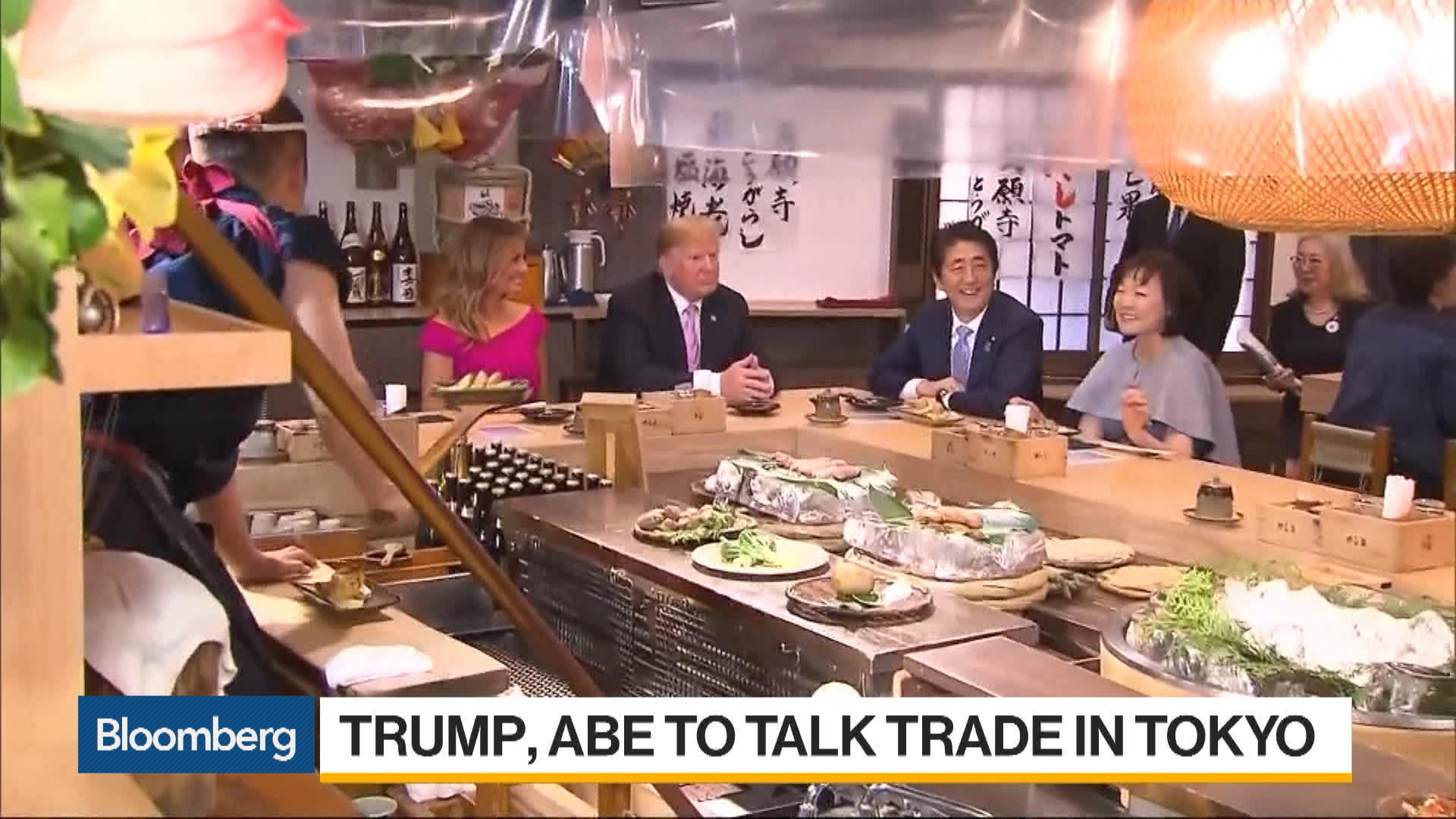 Trump to Face Off With Abe on Trade During Tokyo Visit