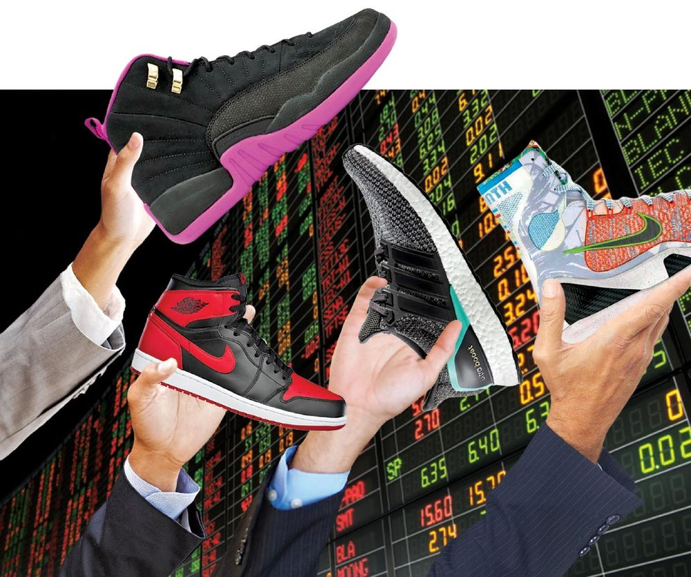 This Sneakerhead Made a Stock Exchange for Shoes - Bloomberg