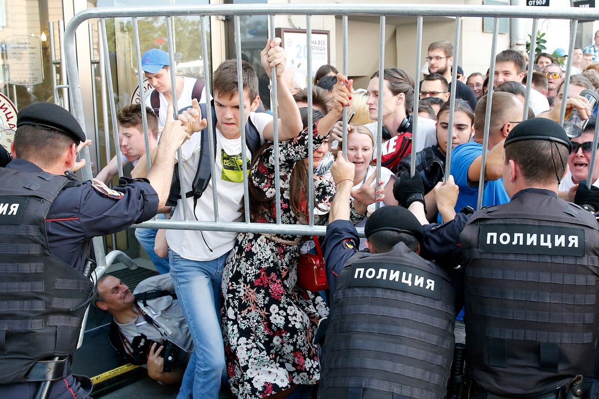 Russia Steps Up Crackdown as Putin Opponents Plan New Protest