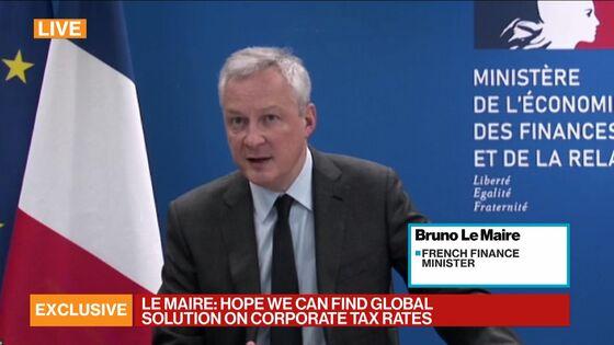 France Signals Progress in U.S. Talks on Global and Digital Tax