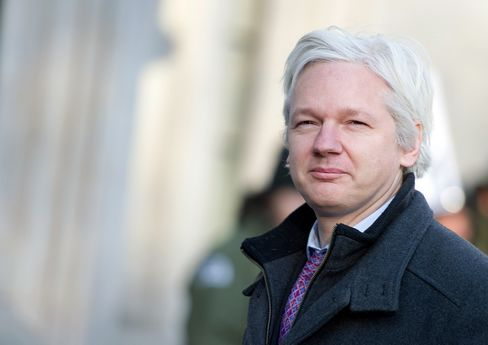 Founder of the Anti-Secrecy Website WikiLeaks Julian Assange