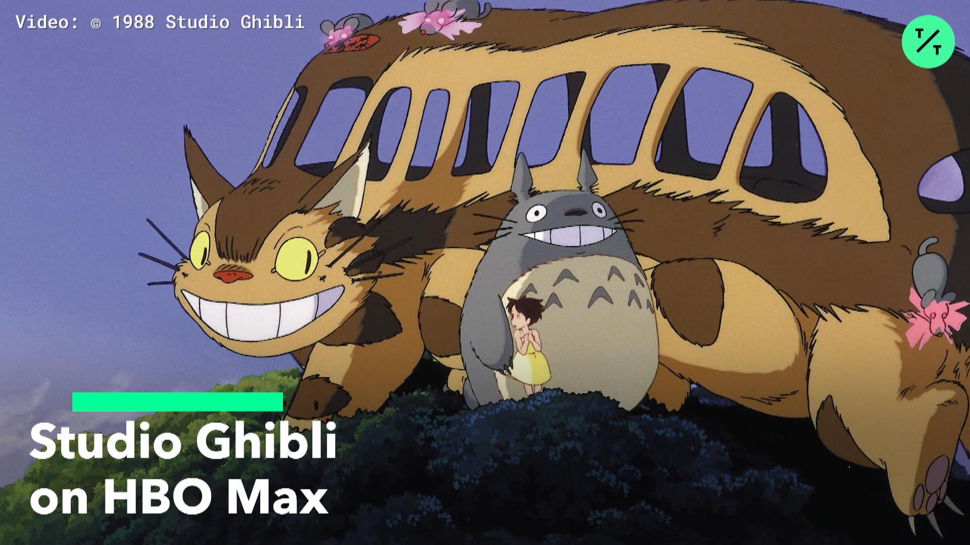 Studio Ghibli on HBO Max