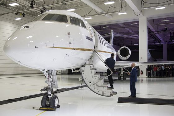 Luxury-Jet Buzz Swirls as Dassault Preps Top-of-the-Market Model