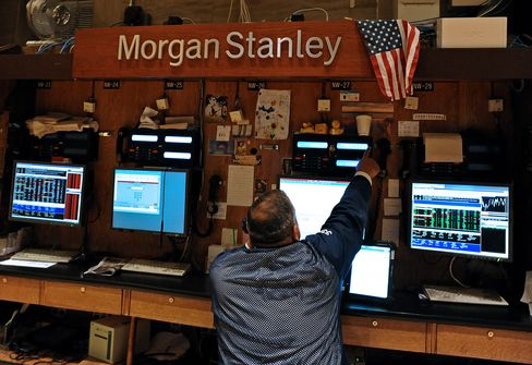 Morgan Stanley Leads Retreat as Europe, Elections Drag on Banks