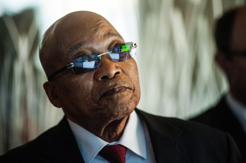 South Africa's ANC Chastises Top Official Over Secret Zuma Meeting