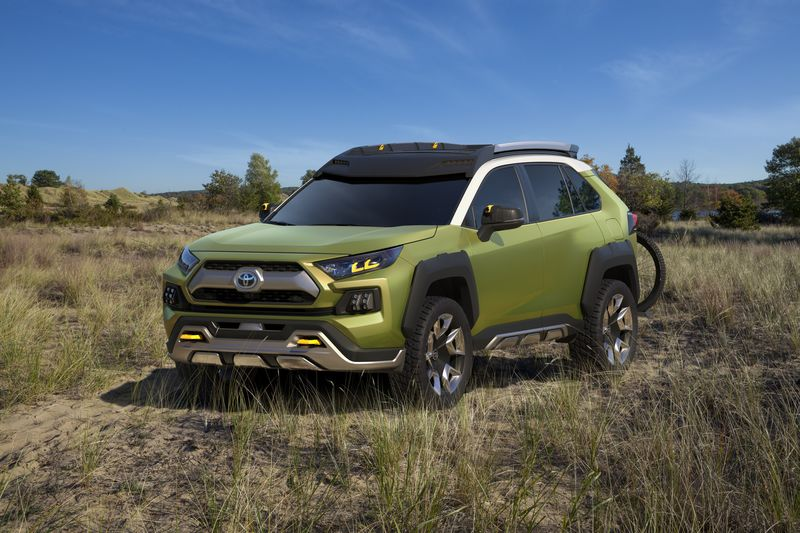 Toyotas rav4 may be getting more adventurous bloomberg toyotas rav4 may be getting more adventurous publicscrutiny Images