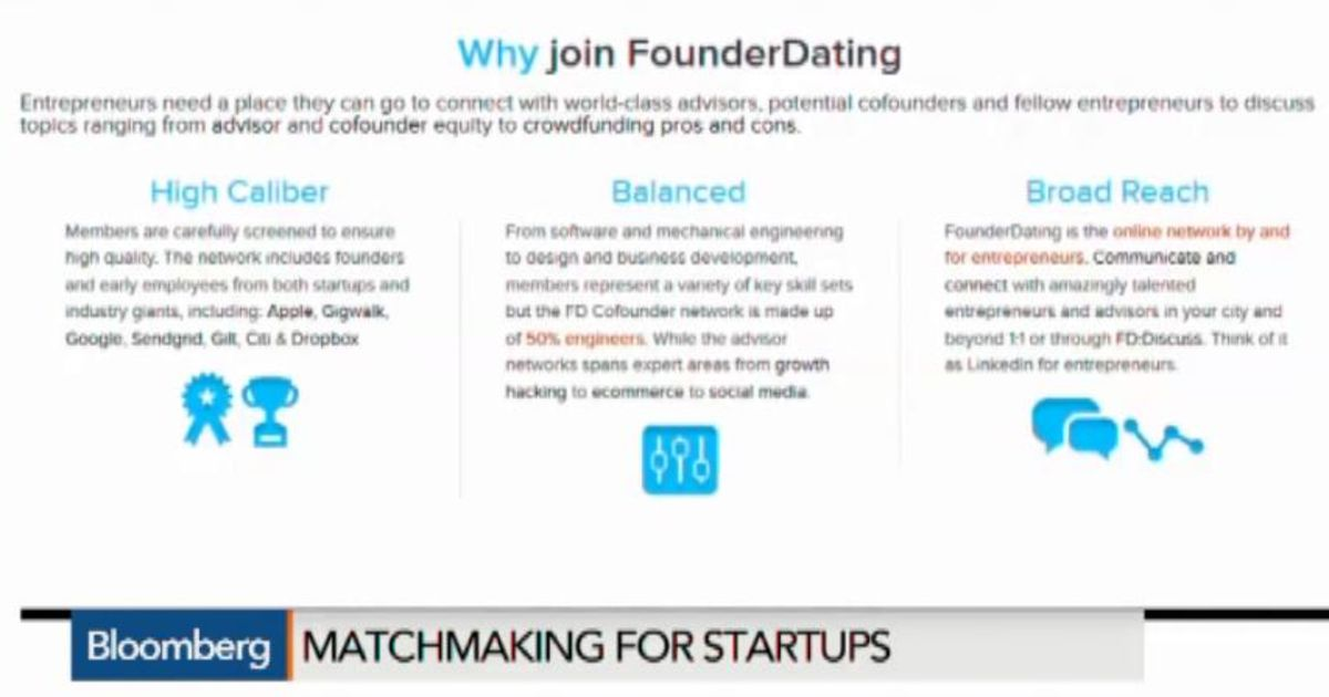 Founderdating discussions on the book