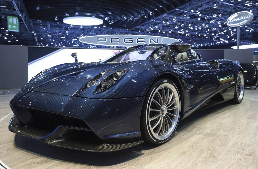 new pagani huayra roadster convertible: price, specs, photos - bloomberg