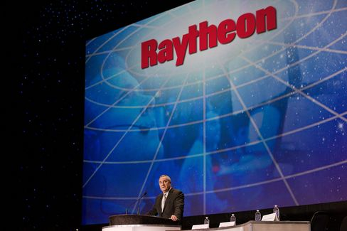 Raytheon's Chairman and Chief Executive Officer Bill Swanson