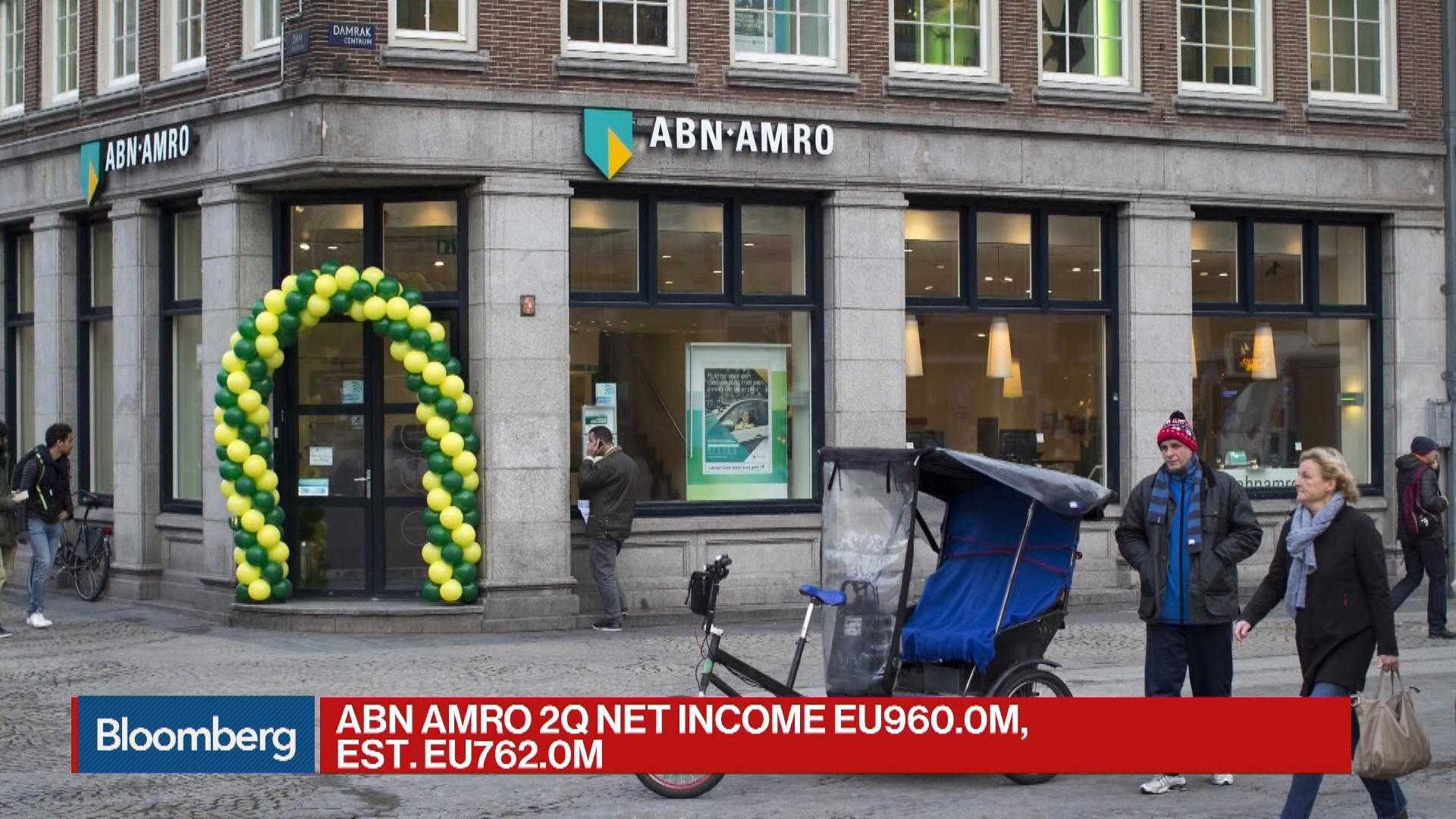 ABN Amro CEO Says Bank Saw Growth Across the Board