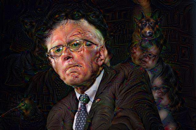 Bernie Sanders, DeepDream