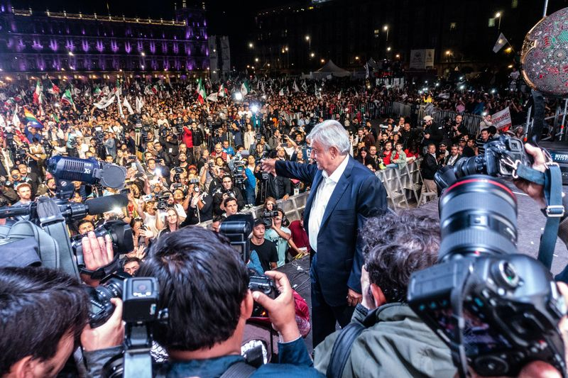 Voters Cast Ballots For The 58th President Of Mexico