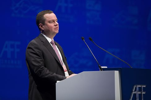 Russia's Deputy Finance Minister Alexey Moiseev