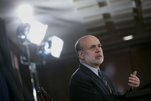 U.S. Fed Chairman Ben Bernanke