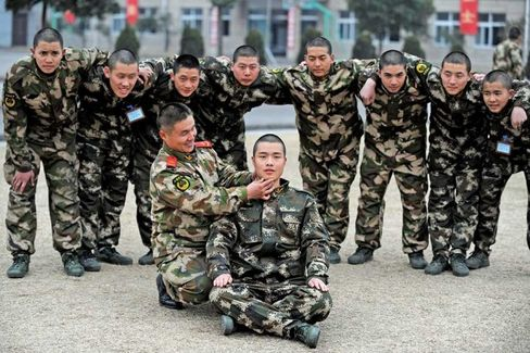 In China, Joining the Army Will Cost You