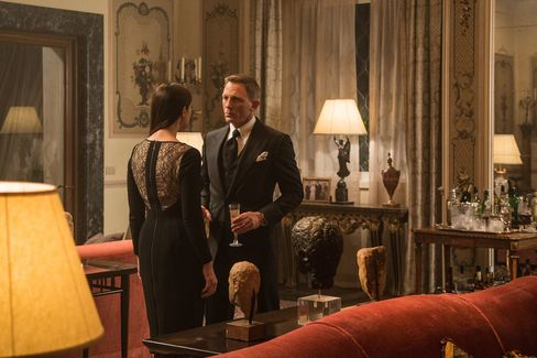 In 'Spectre,' Bond drinks Bollinger champagne, Macallan scotch, and, of course, his Vodka martini shaken, not stirred.