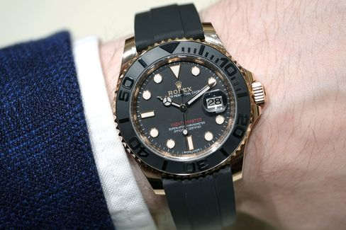 Rolex really got it right with the Everose Yachtmaster.
