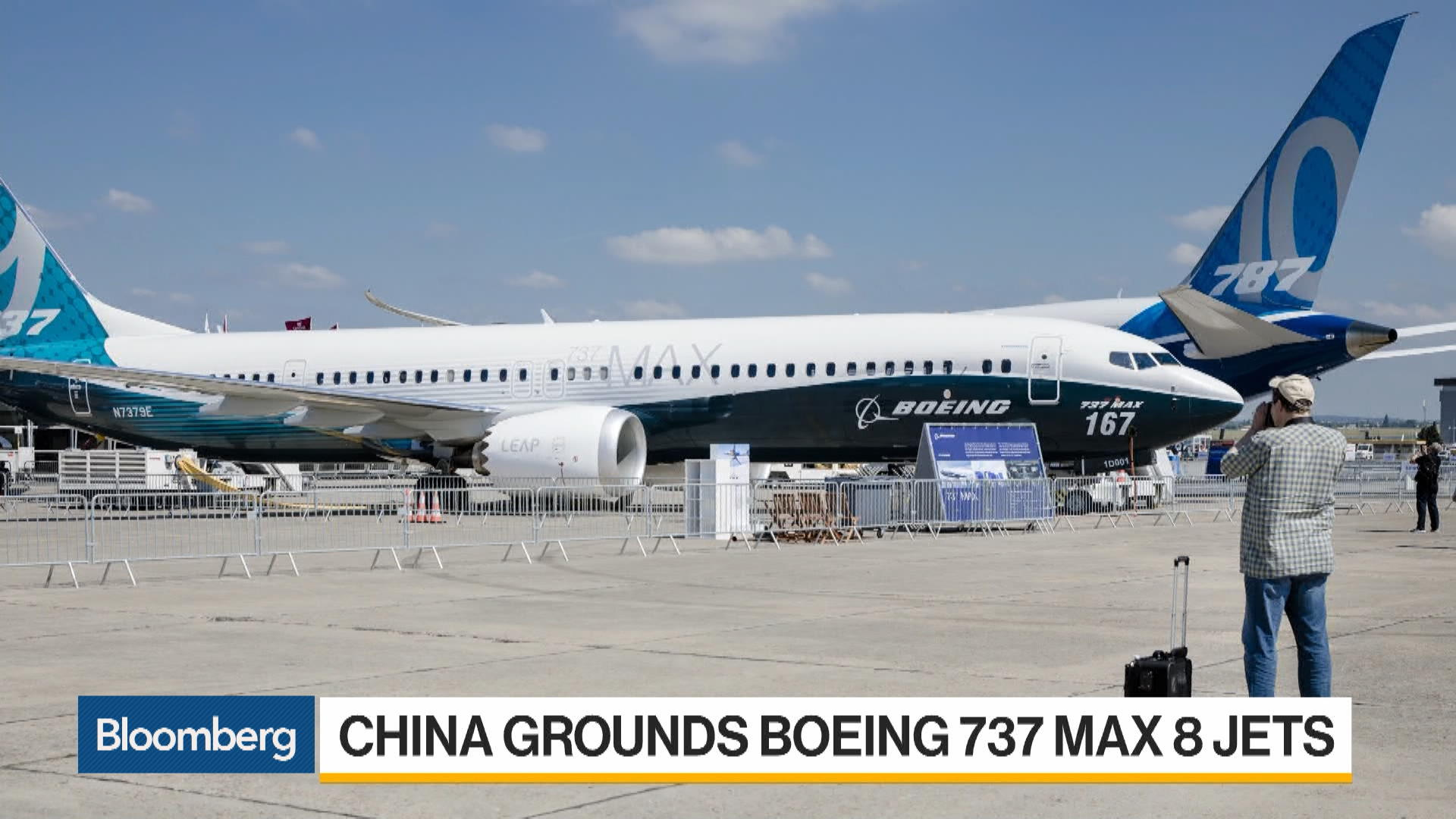 China Grounds Boeing 737 Max Jets After Ethiopian Airlines