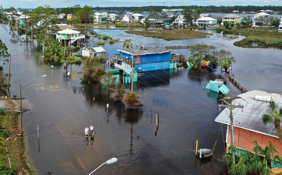 Summer of U.S. Disasters Set Records,Left Trail of Ruin
