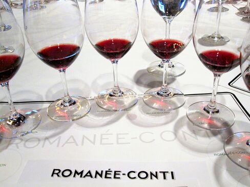 Domaine de la Romanee-Conti Wine
