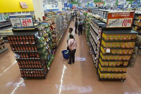 Wal-Mart de Mexico SAB Store in Mexico City