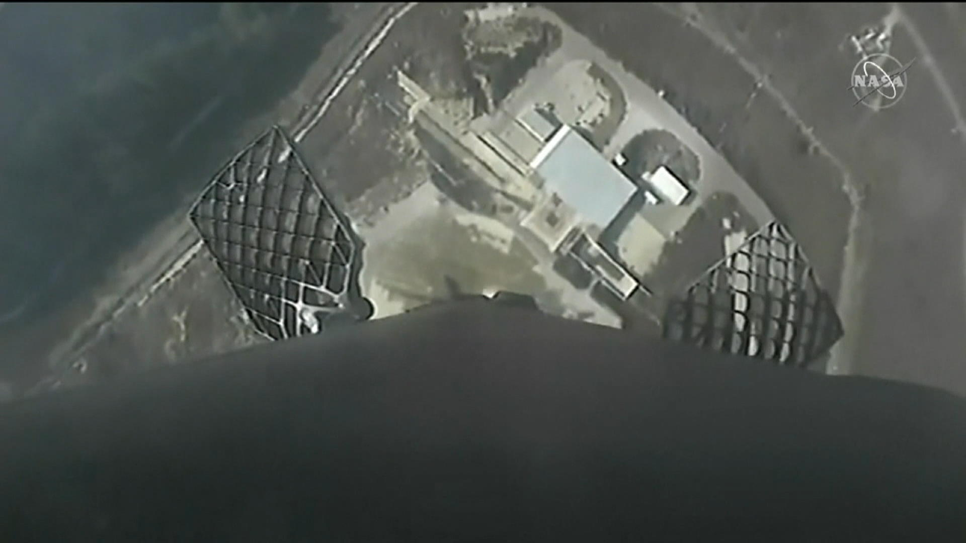 Watch: First Stage of SpaceX Rocket Comes in for Perfect Landing