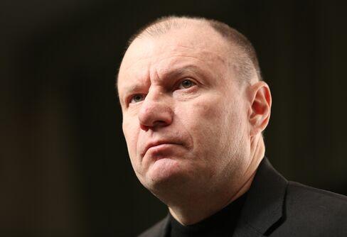 OAO GMK Norilsk Nickel CEO Vladimir Potanin