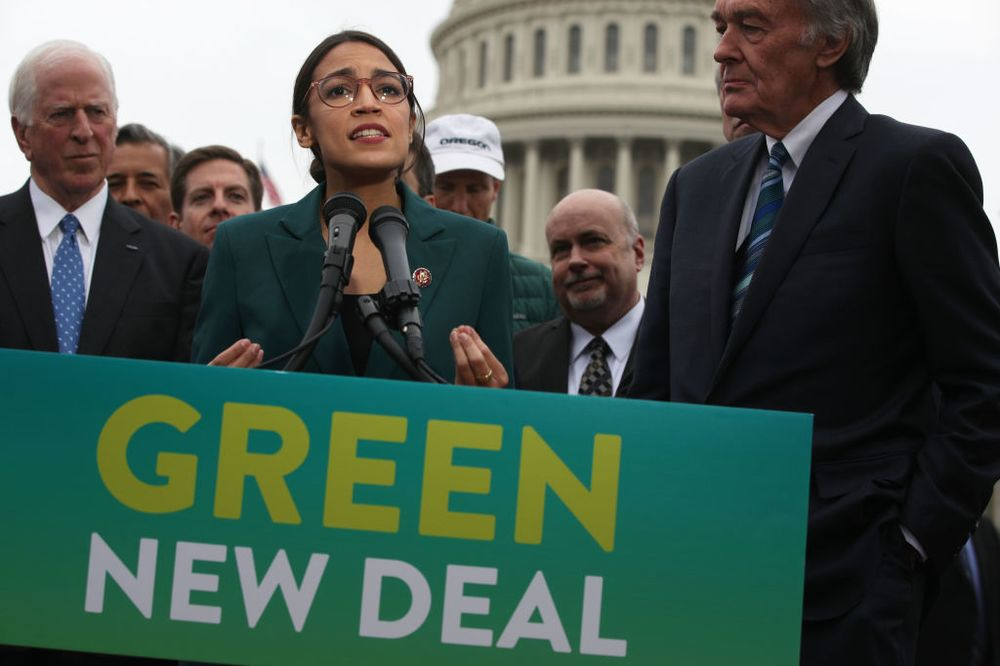 Alexandria Ocasio-Cortez's Green New Deal Is Unaffordable - Bloomberg