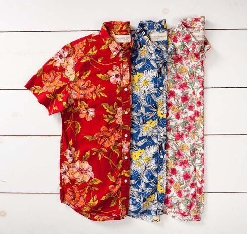 Floral shirts from Denim & Supply, ralphlauren.com