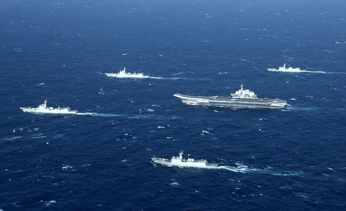 U.S. Navy Admiral Hails China's Professionalism in Disputed Seas