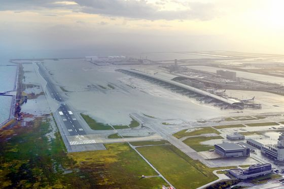 Airport Flooded, Millions Without Electricity in Wake of Typhoon Jebi