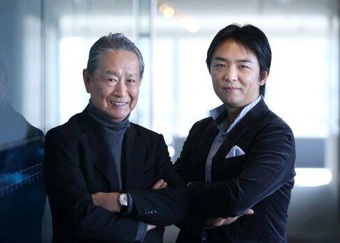 Nobuyuki Idei and Gen Isayama