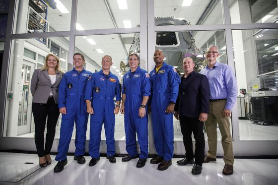 SpaceX Readies Astronauts for America's Return to Space